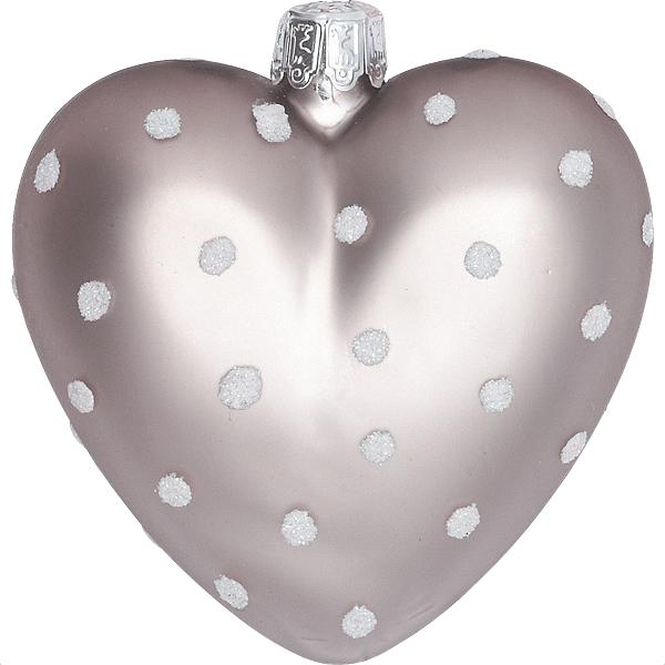 Julgranskulor Heart Spot Smoke