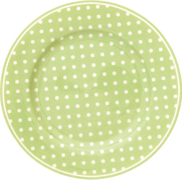 Tallrik Spot Green